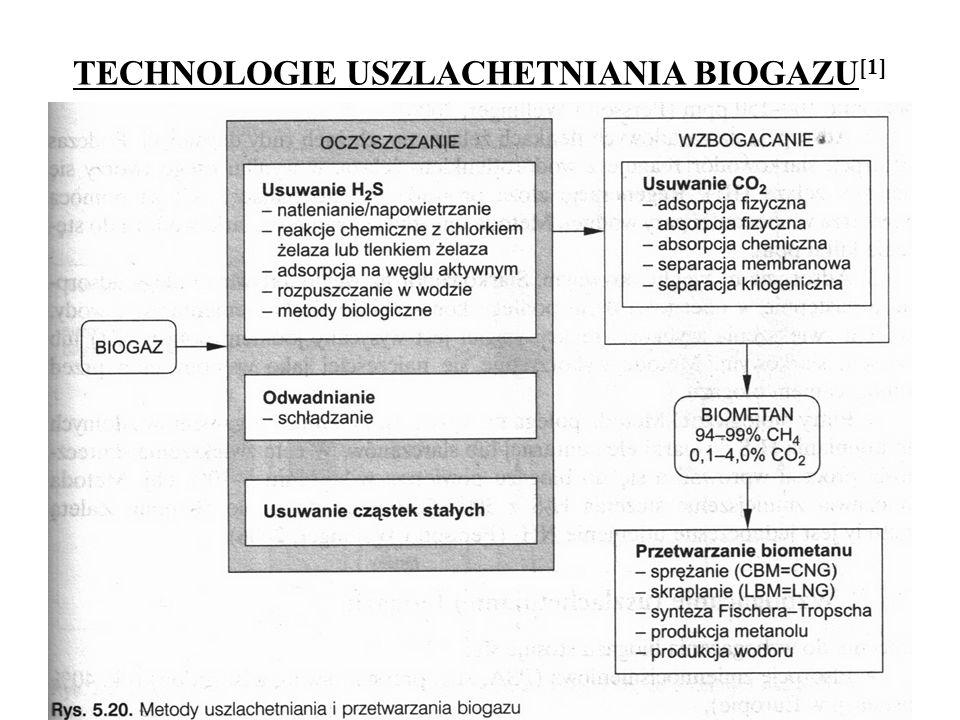 TECHNOLOGIE USZLACHETNIANIA BIOGAZU[1]